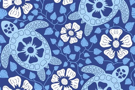make a blue print variations on a fabric color on cloth