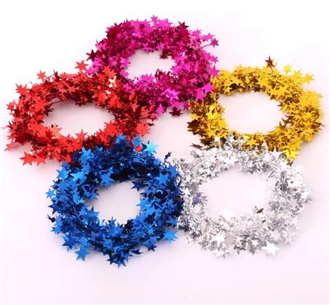 5pcs lot 7 5m weding decoration party use christmas