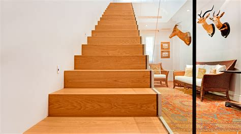escaleras de madera para interior