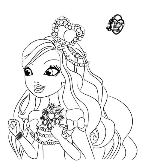 get this ever after high coloring pages free printable 01108
