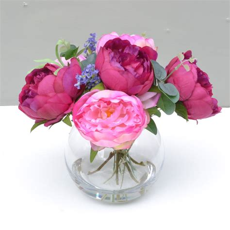 Silk Flower vases design ideas artificial flower arrangements you