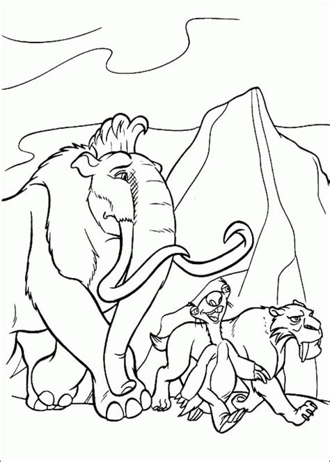 ice age coloring pages online ice age coloring pages coloringpagesabc com