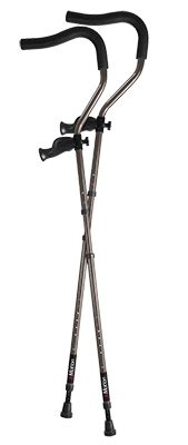 most comfortable crutches in motion pro underarm tall ergonomic folding underarm