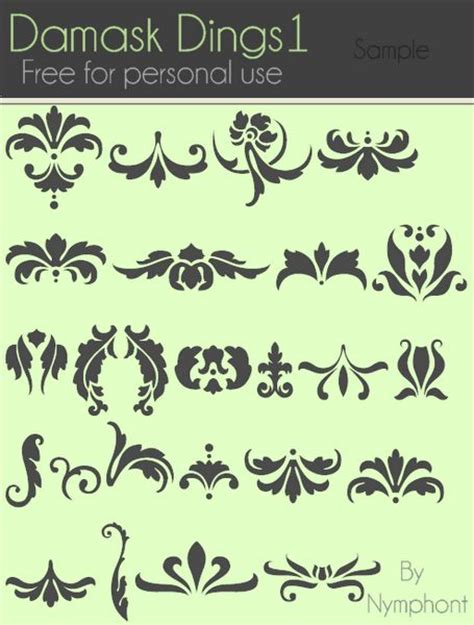 damask pattern font 79 best fonts and such images on pinterest calligraphy