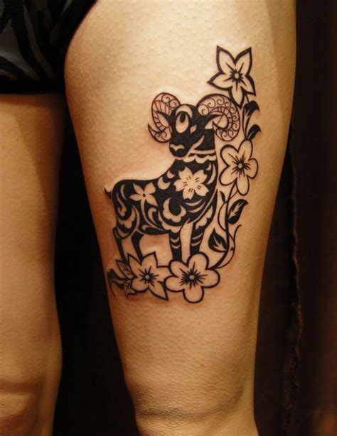 tribal tattoo on thigh other styles archives chronic ink