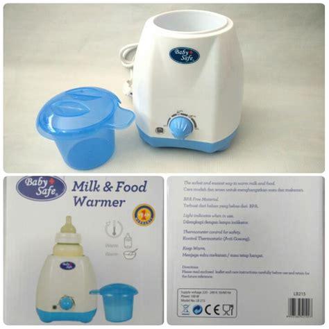 jual baby safe milk and food warmer selina baby shop