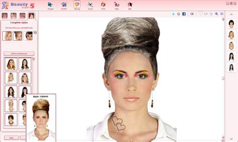 virtual hairstyles design studio beauty studio 5 virtual stylist on your computer