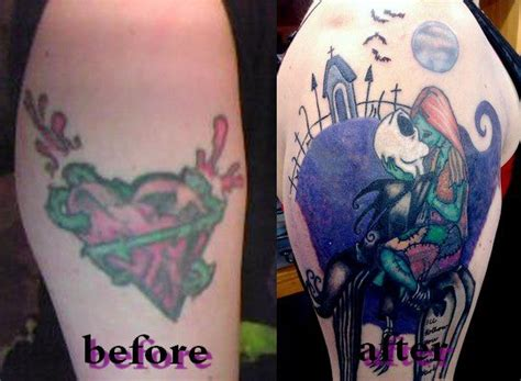 tattoo nightmares pics and after tattoo before awful graffiti heart after