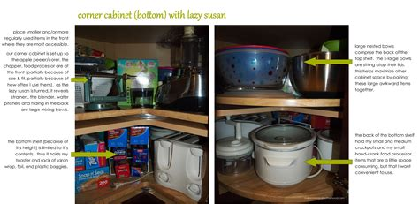 how to organize a corner cabinet kitchen organization cabinets makeovers motherhood