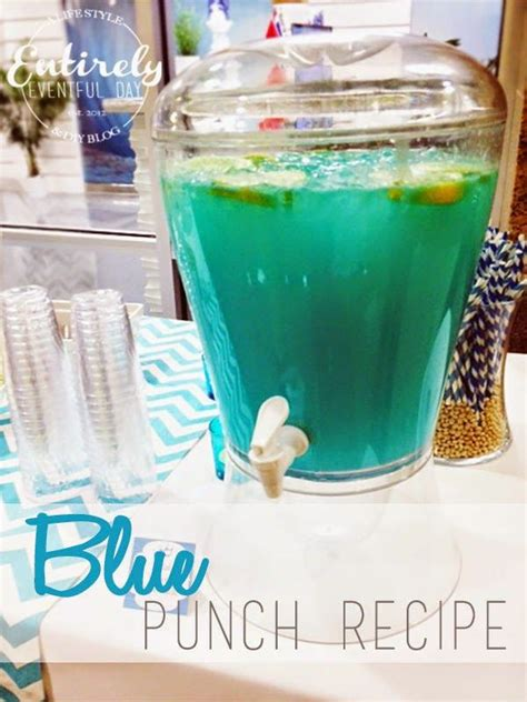 Blue Drinks For Baby Shower by This Punch Is For A Baby Shower Or