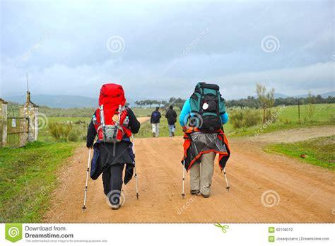 camino pilgrim pilgrims on the camino de santiago spain way to santiago