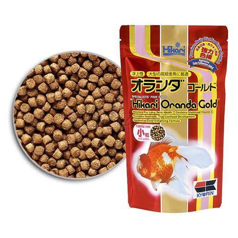 Hikari 100g hikari oranda gold mini 100 g abc zoo