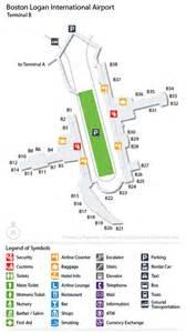 Boston Terminal Map by Cheap Airport Car Rental Deals At Logan Intl Usa Bos