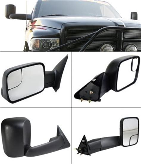 dodge ram 3500 towing mirrors dodge ram 3500 1994 2002 towing mirrors manual a101l0gi221 topgearautosport