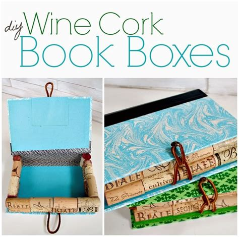 best books on primative scrap crafts recycled wine cork book boxes infarrantly creative