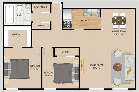 2D Floor Plan ? Design / Rendering ? Samples / Examples