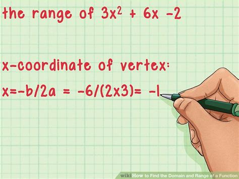 finding the domain and range of a function worksheet how to find the domain and range of a function 14 steps