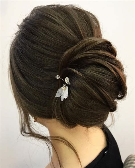 Wedding Hairstyles For The With Hair by This Chic Twist Updo Wedding Hairstyle For