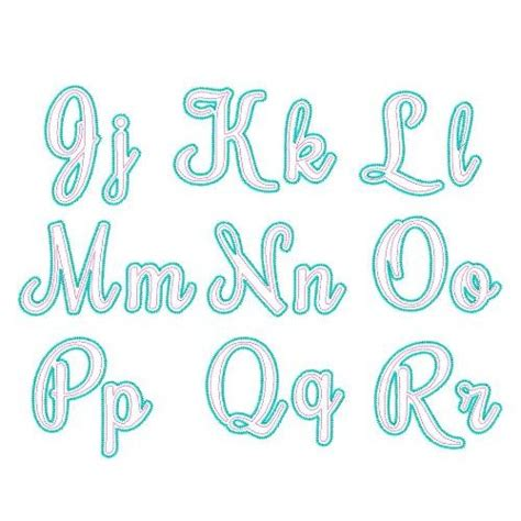 free printable applique fonts applique fonts free download
