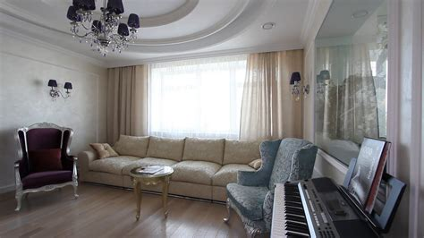 day room day room with tv karaoke sofas and piano view showcase of modern luxury apartment
