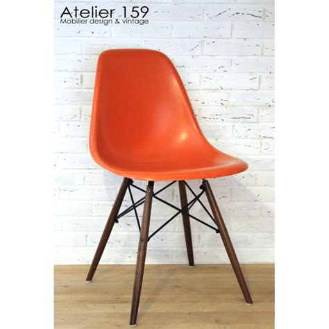 Chaise Eames Herman Miller by Dsw Chaise Eames Originale Et Vintage Orange Herman