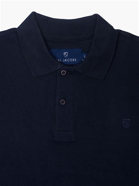 Polo Shirt Coldplay Navy kal classic fit midnight navy polo shirt