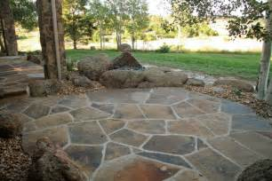 Flagstone Patio Designs Garden And Picture Design Pictures Of Landscaping 2 Acres Designs