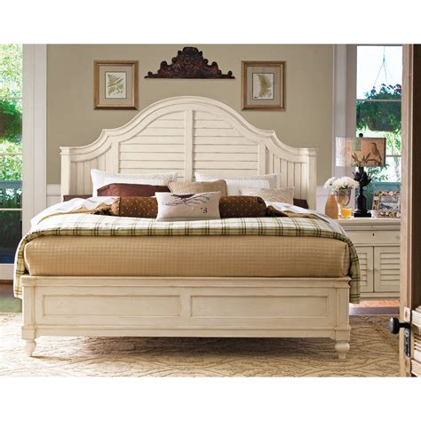 Paula Deen Steel Magnolia Bedroom Set | paula deen home steel magnolia panel bed beds at hayneedle