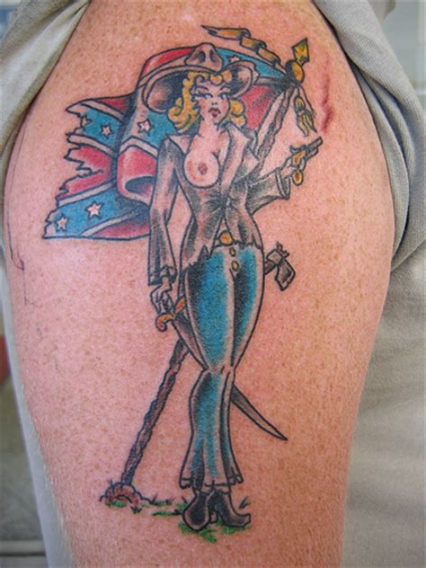 rebel flag tattoos confederate flag tattoos best designs