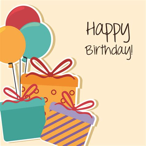 Happy Birthday Card Template Free style happy birthday greeting card template 02