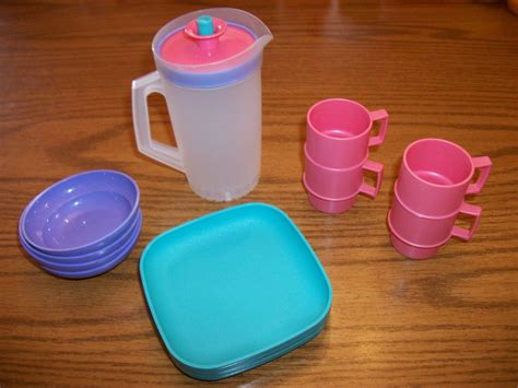 Tupperware My Pony Lunch Set childrens play tupperware lunch dishes set mini tuppertoy ebay children