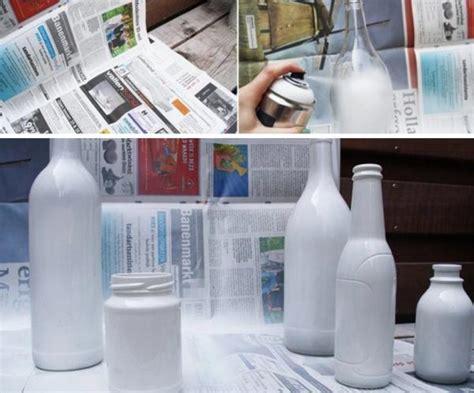 como cortar y decorar botellas de vidrio c 243 mo pintar botellas de vidrio 7 pasos