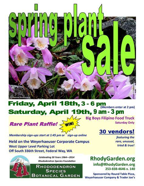 Garden Sale 2014 Plant Sale Vendors Rhododendron Species
