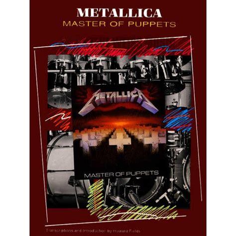metallica xylophone metallica master of puppets drum set transcriptions