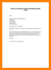 Financial Guarantor Letter Exle 6 Format Of Guarantor Letter Hostess Resume