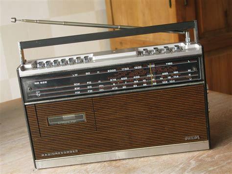 Buku Elektronika Radio Transistor Recorder Cassette philips rh522 portable radio cassette recorder retro vintage design radios