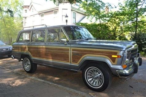 old jeep grand cherokee 1991 jeep grand wagoneer final edition finds of the day