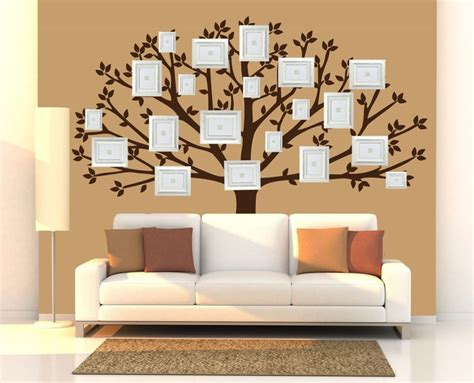 family wall stickers family tree wall decal large tree decals photo memories