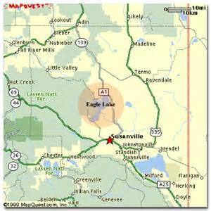 susanville california map estate