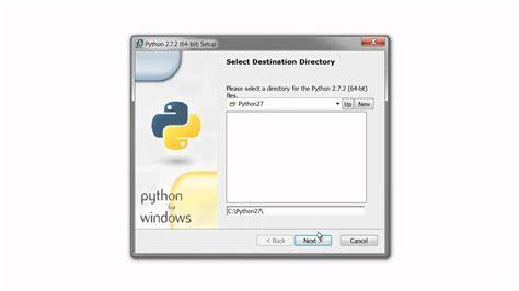 tutorial python 2 7 video tutorial instalaci 243 n python 2 7 windows 7 64bit