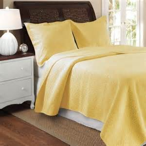 Coverlet Sizes Greenland Home Vashon Yellow Full Queen 3 Piece Quilt Set