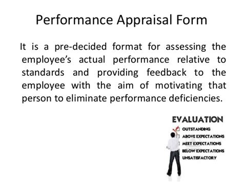 Performance Appraisal Questionnaire For Mba Project by Designing Of Performance Appraisal Form