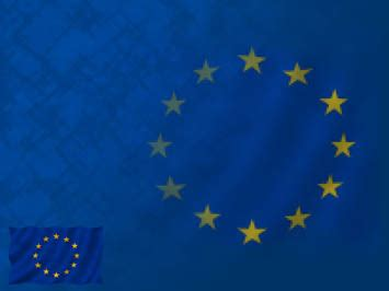 european union flag 04 powerpoint templates