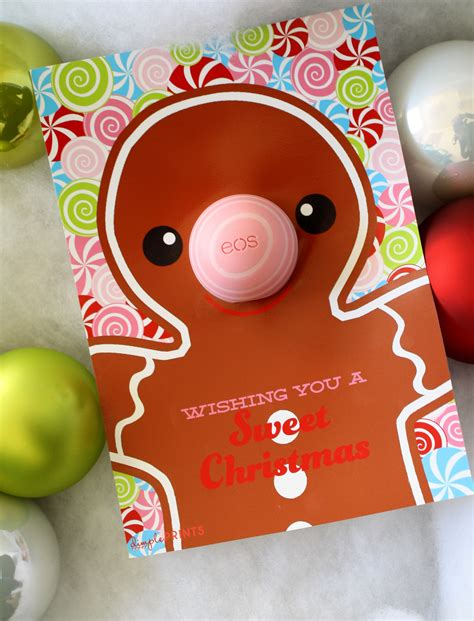 eos birthday card template eos lip balm gift idea dimple prints