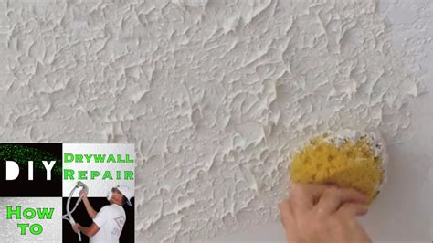 ceiling spackle designs how to use a sponge to match knockdown texture on a