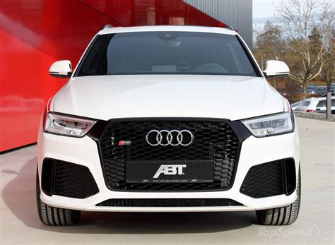 Audi Q3 Rs Abt by Audi Rs Q3 By Abt Nuova Veste Da 410 Cv Wired
