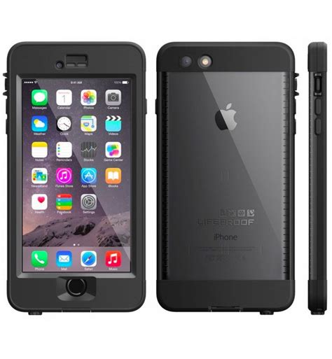 lifeproof nuud waterproof dust proof for iphone 6s plus only black new ebay
