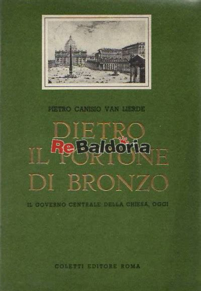 libreria coletti roma dietro il portone di bronzo il governo centrale della