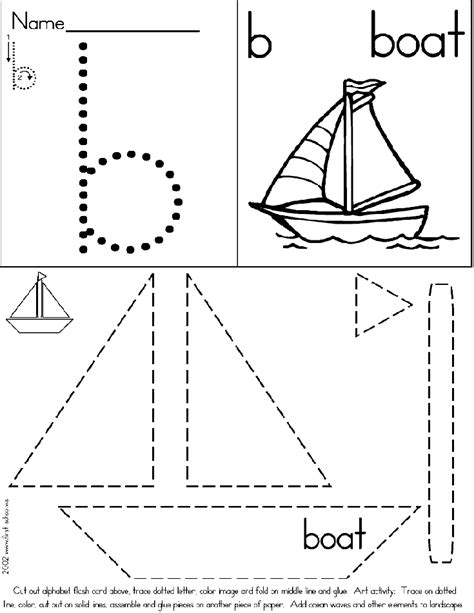 paper boat cut out template boat craft b is for boat boat crafts