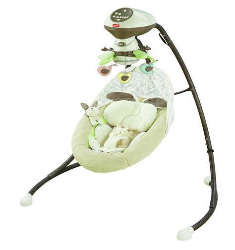 fisher price bunny swing com fisher price snugabunny cradle n swing with